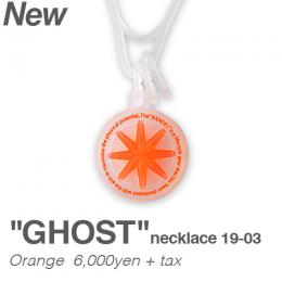 collection line GHOST necklace 19-03(オレンジ)