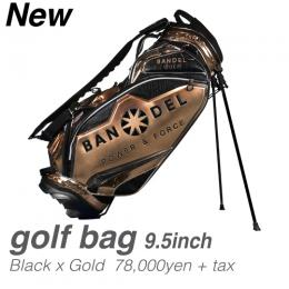 BANDELGOLF Golf Bag004 BlackxGold