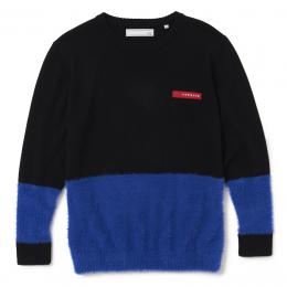 V12 MOHAIR KNIT BLACK