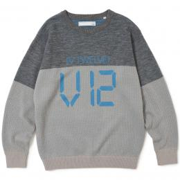V12  LED KNIT   GRAY