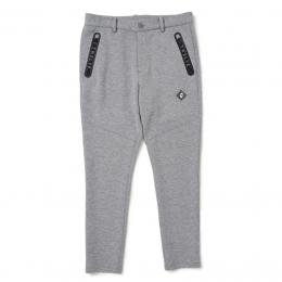 V12 LOGO ZIP PANTS GRAY