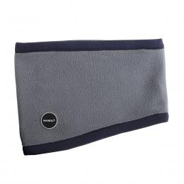 BANDEL Neck Warmer Micro Fleece Navy×Grey