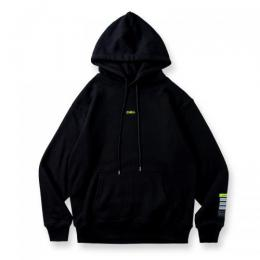 BANDEL Hoodie Color benefit  【CHILL】 Black